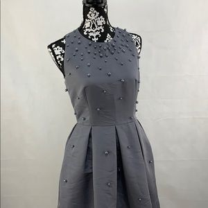 Ted Baker grey Pearl Dress